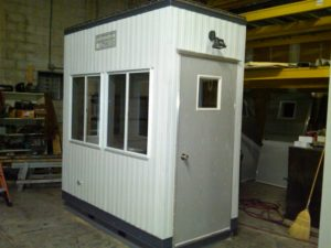 4 x 8 Guard Booth-Plan A-Standard