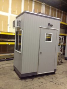4 x 6 Guard Booth-Plan B-Standard