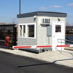 8 x 10 Guard Booth-Security Booth-Ocean Spray Distribution Center