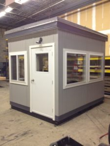 8 x 10 Guard Booth-Operator Booth-Scale Booth-120MPH Zone