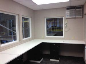 8 x 12 Guard Booth-Plan B-Custom Interior