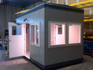 8 x 14 Guard Booth with Restroom-Non ADA