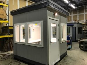 8 x 8 Guard Booth-90MPH Zones
