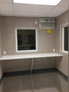 8 x 10 Guard Booth-Interior