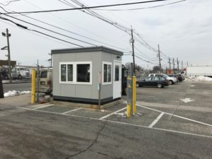 8 x 10 Guard Booth-90 MPH Zone