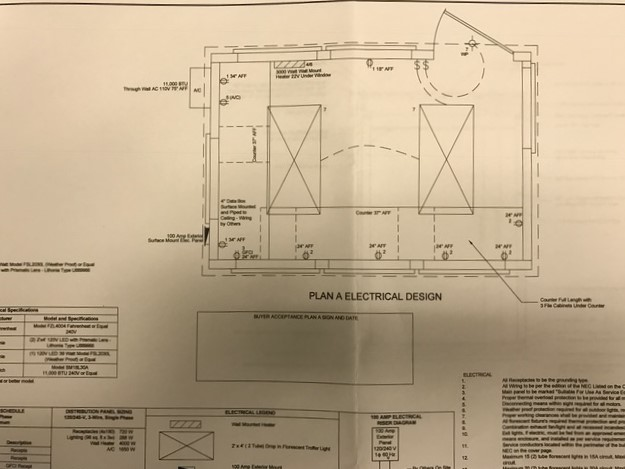 Guard booth guard shack guard house drawings floor plans for Guard house design layout