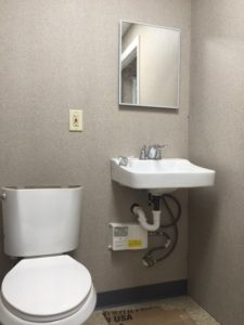 Meccon-8 x 14 Guard Booth Restroom