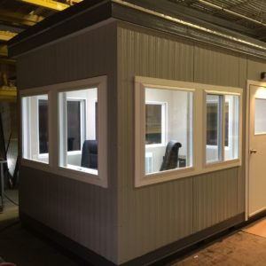 8x12 Guard Booth-Plan B