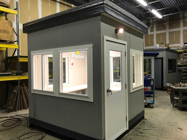 8x8 Guard Booth Prefabricated Guard Booth Price