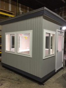 8x10 Operator Booth-E & L Construction